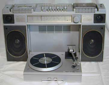 The Williams Model 8060 Twin Cassette Radio Record Player